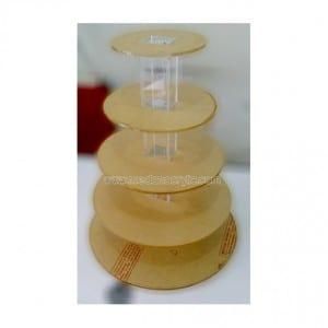 Acrylic Cup Cake Display