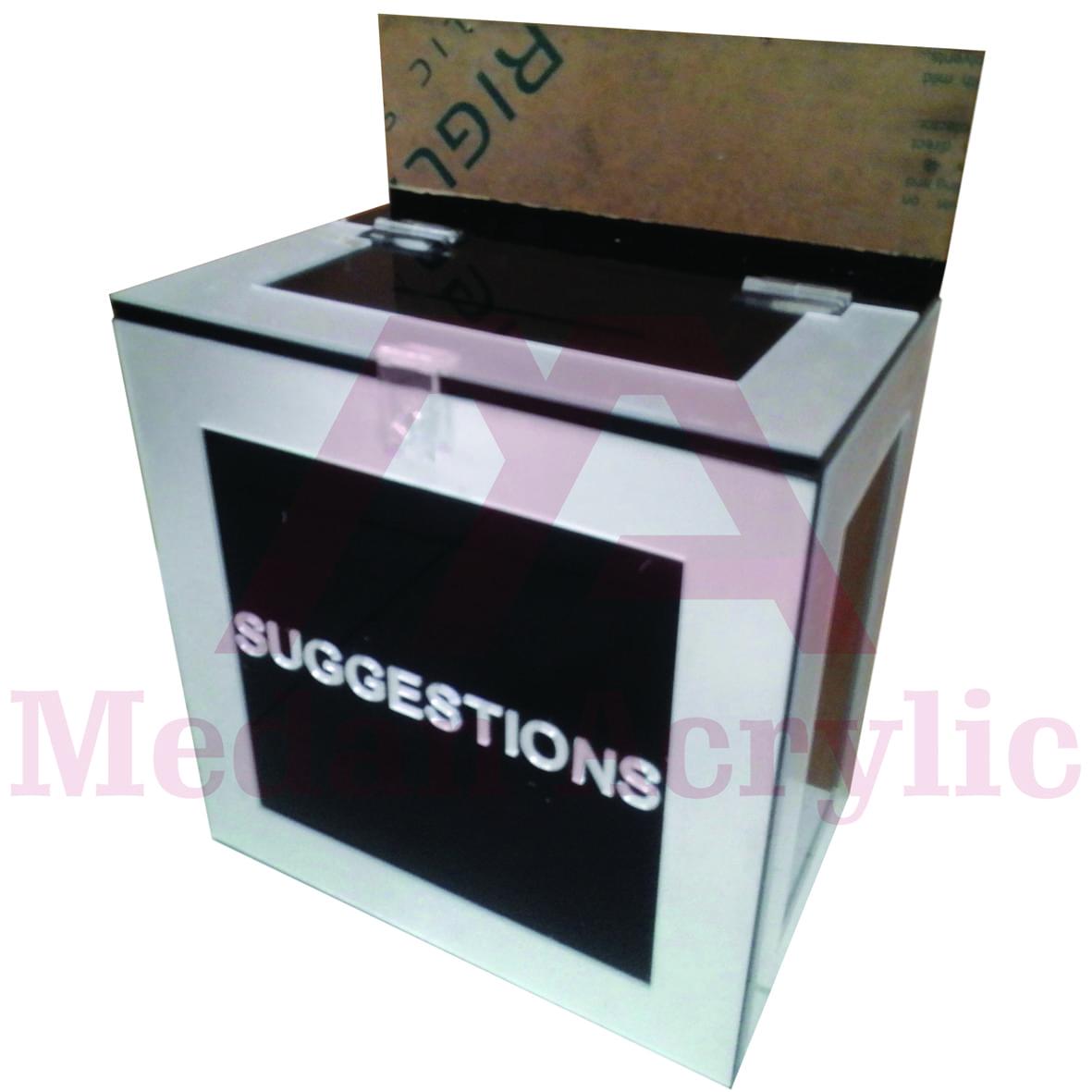 Kotak Saran Acrylic