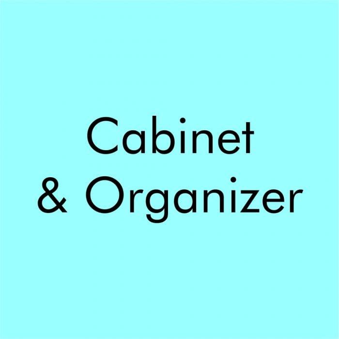Cabinet & Organizer